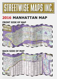 Map Of New York And Manhattan by Streetwise Manhattan Map Laminated City Street Map Of Manhattan