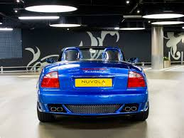 navy blue maserati maserati spyder 90th anniversary v8 2dr convertible nuvola london