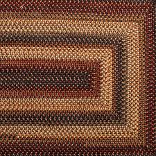 braided area rugs and coir doormats for country style home decor