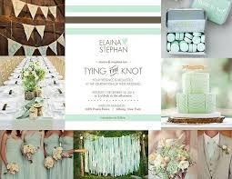 mint green wedding 2013 wedding colors mint green wedding paperie