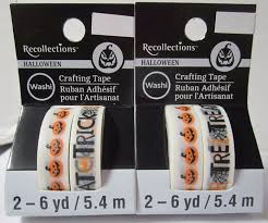 halloween tape crafts adhesives u0026 tape find recollections products online at