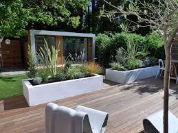 garden best terrace ideas beautiful contemporary backyard garden
