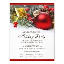 corporate christmas party invitation templates best business