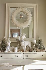 oh deer the dining room hutch for christmas random thoughts home