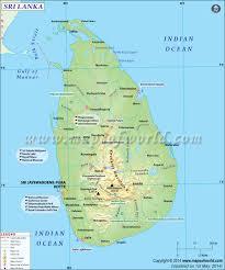 Definition Of Physical Map Sri Lanka Map Map Of Sri Lanka