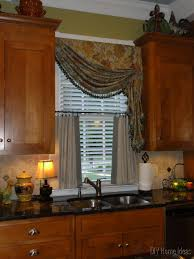enchanting 20 kitchen curtain ideas diy inspiration of diy