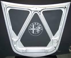 alfa romeo emblem alfa romeo bonnet hood liner with emblem