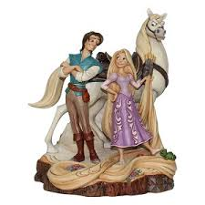 your wdw store disney traditions by jim shore tangled carved