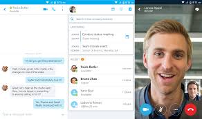 skype android app microsoft releases skype for business for android managed solution