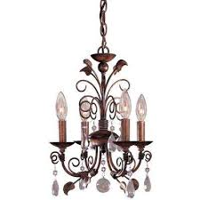Mini Bronze Chandelier Mini Bronze Chandeliers Lighting The Home Depot