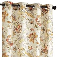 World Market Smocked Curtains by Pier One For The Sitting Room Eva Floral Curtain 84