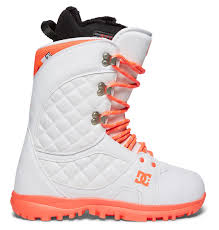 womens size 11 snowboard boots s karma lace up snowboard boots adjo200011 dc shoes