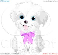 bichon frise vs yorkie royalty free rf clipart of little dogs illustrations vector