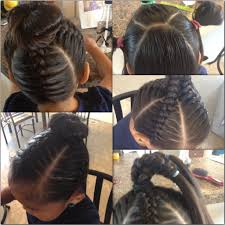 african fish style bolla hairstyle with braids short on time nothing is cuter than this little girl hair style