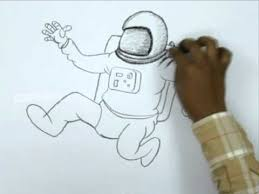 how to draw an astronaut youtube