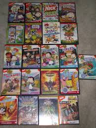 my nickelodeon dvd collection by surfcritter on deviantart