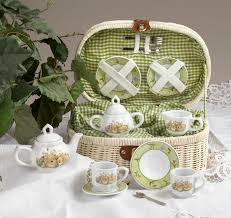bunny tea set this set sets me back to a time when i would sip sweet hot tea on
