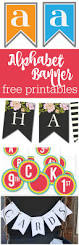 freebie friday on wednesday 15 alphabet banners free