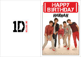 one direction cards one direction birthday card by hannahloulou on deviantart