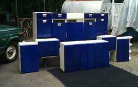 Cobalt Blue Kitchen Cabinets Powder Coating Steel Kitchen Cabinets Todd S Story And