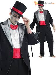 mens ladies corpse groom bride zombie halloween fancy dress
