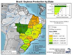 United States Map By Region by Brazil U0027s Soy Empire Mato Grosso In The 2014 Election Geocurrents