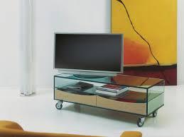 design m belrollen tv möbel rollen glas edelos inspiration design für tv möbel