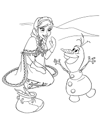 frozen colouring pages 28 print color free
