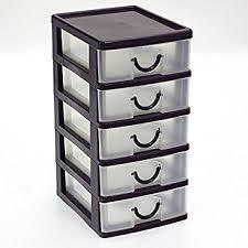bloc tiroir cuisine bloc coffret tour boite de rangement 5 tiroirs plastique violet