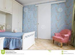 blue girls bedroom interior royalty free stock image image 32100576