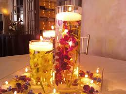 gorgeous wedding candles magnificent spring centerpieces
