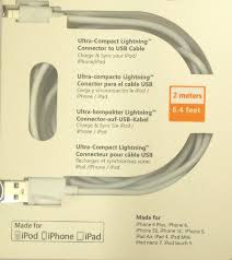 skywater mfi certified lightening cable 2 meter lightning cable
