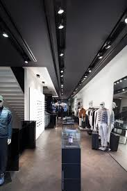 target group adequate lighting at porsche design store in london