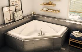 Decor Tiles And Floors Decor Tile Floors And Tile Tub Surround With Wall Art Also Maax