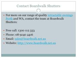 motorised retractable awnings perth