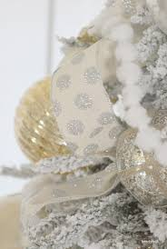 White Christmas Tree Silver Decorations by Home By Heidi Silver And Gold Christmas Tree