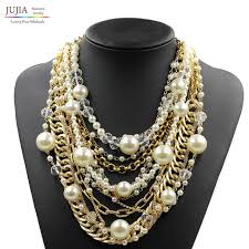 aliexpress collar necklace images 2017 new fashion necklace collar pearl necklaces pendants trendy jpg