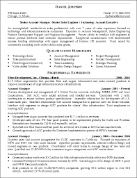 sales manager resume exles 2017 accounting 12 it sales engineer resume exle senior account manager 2017 best