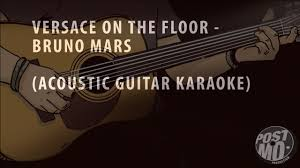 Hit The Floor Bass Tab - versace on the floor bruno mars acoustic guitar karaoke