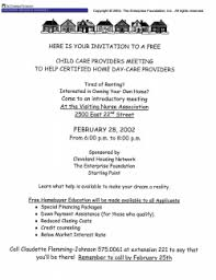 sample marketing flyer for homeownership home repair programs for