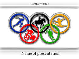 olympic games powerpoint template u0026 background for presentation
