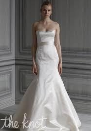 monique lhuillier simplicity wedding dress the knot