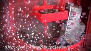 heated parts washer cabinet automotive parts washer spray wash cabinet ranger products youtube