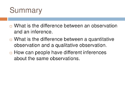 28 observation vs inference worksheet observation and