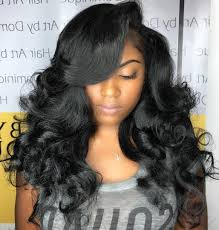 wavy weave hairstyles for round faces hairstyles