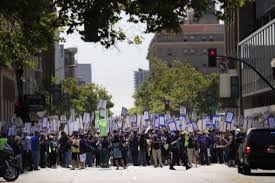 city officials say oakland workers to strike tuesday sfgate
