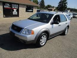2005 Ford Freestyle Interior 2005 Ford Freestyle Se Suv In Hartville Oh 1fmdk01165ga51855