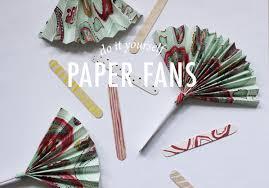 paper fans diy diy paper fan modern wedding