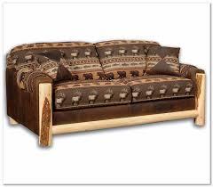 rustic sofas and loveseats rustic loveseat sleeper rustics log furniture