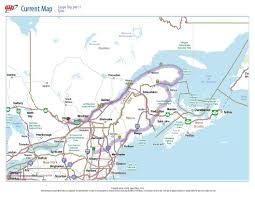 Quebec Canada Map Gaspe Peninsula Quebec Canada 2009 Motorcycle World